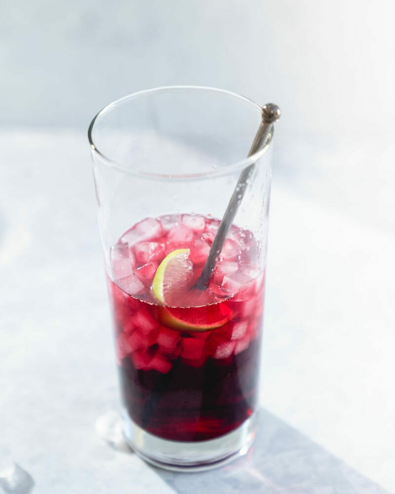 Vodka cranberry cocktail