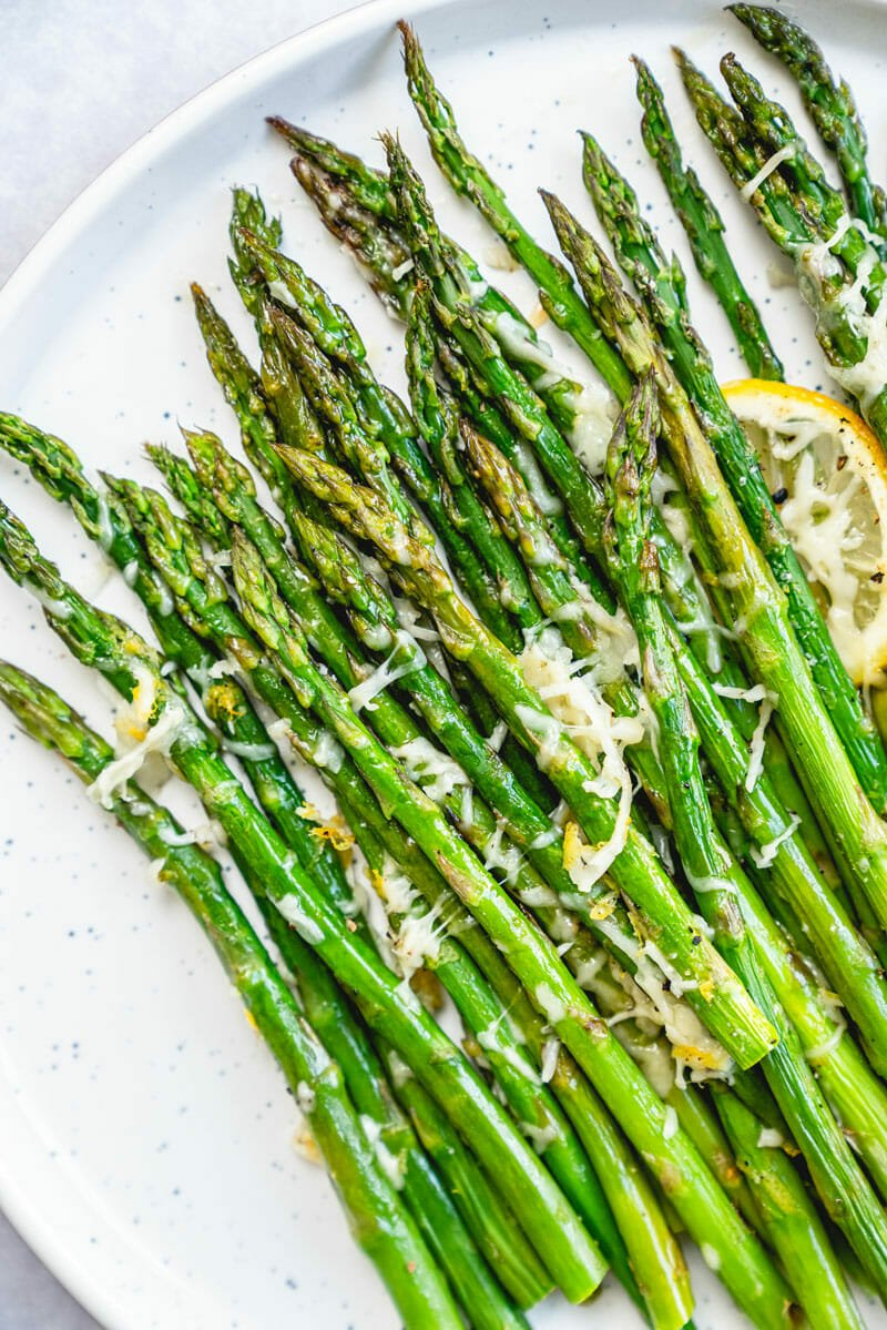 Baked Asparagus With Parmesan A Couple Cooks