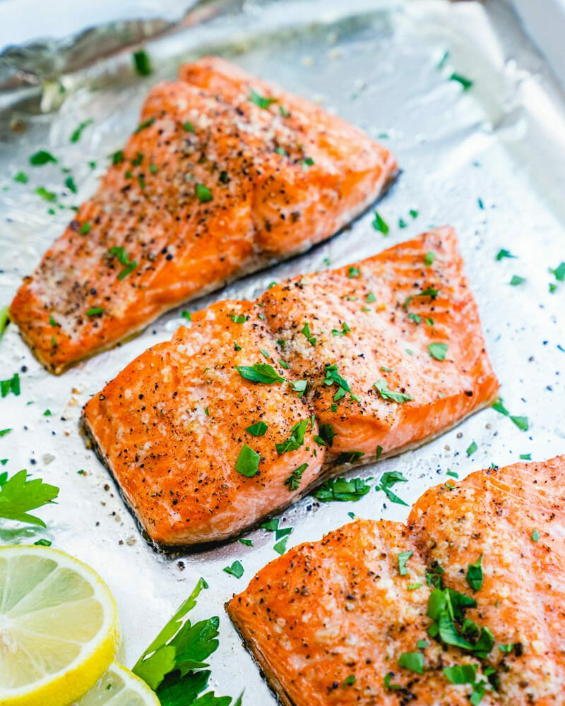 Easy Oven Baked Salmon A Couple Cooks