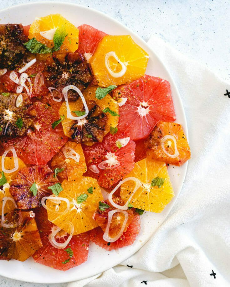 Simple Citrus Salad