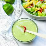 Creamy cilantro dressing