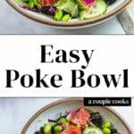 Easy Poke Bowl