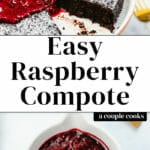 Easy Raspberry Compote