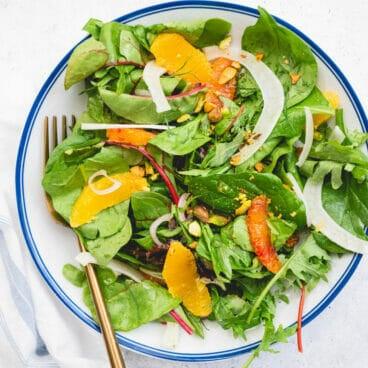 Fennel orange salad