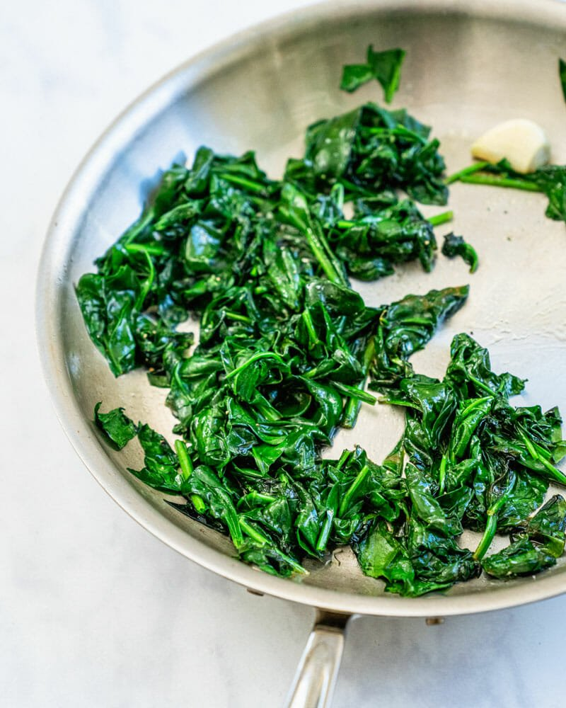Best sauteed spinach