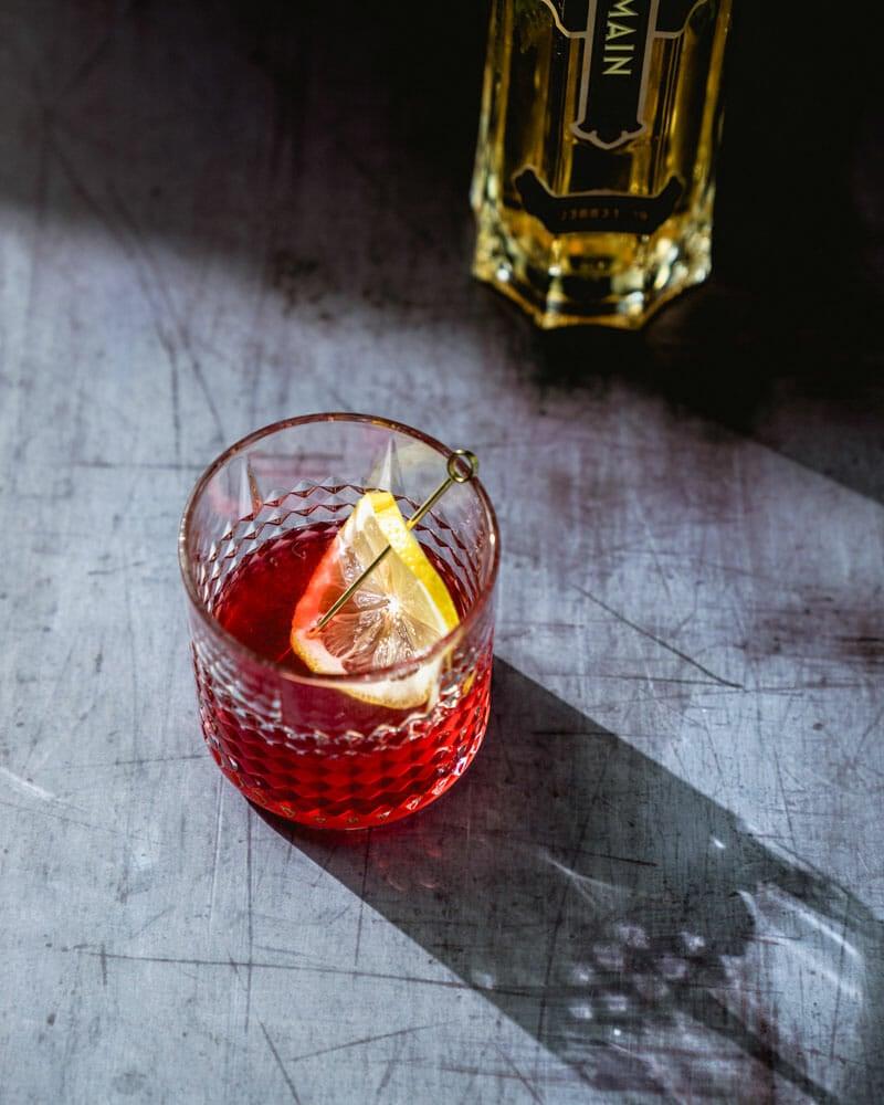 St Germain Vodka Cocktail