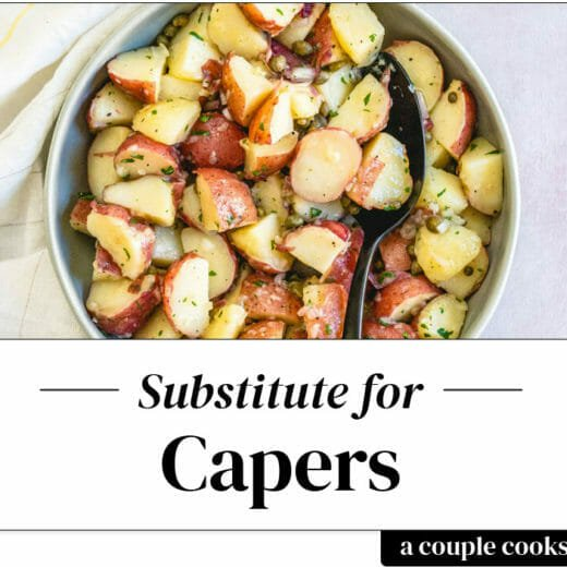 Substitute for capers