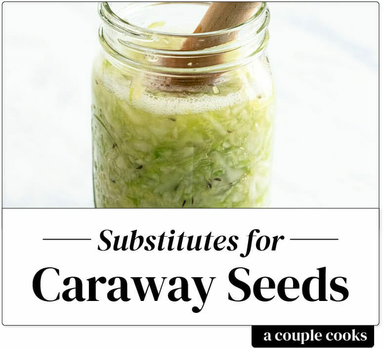 Substitute for caraway seeds