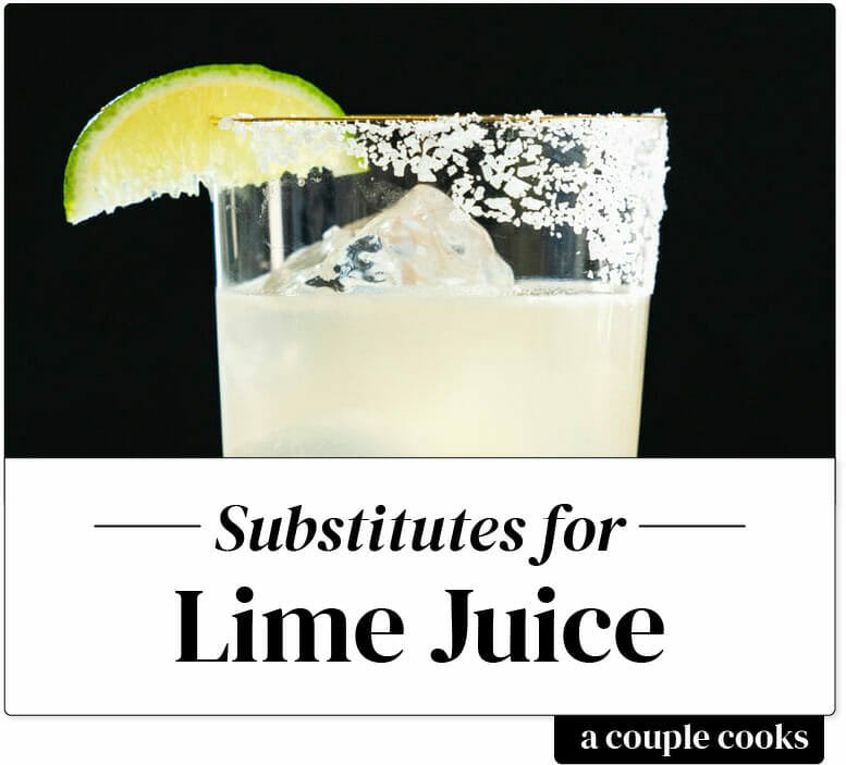 Substitute for lime juice