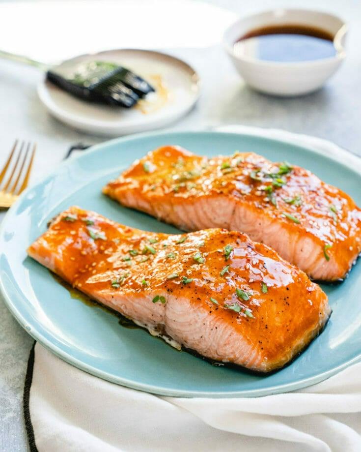 Easy Salmon Teriyaki