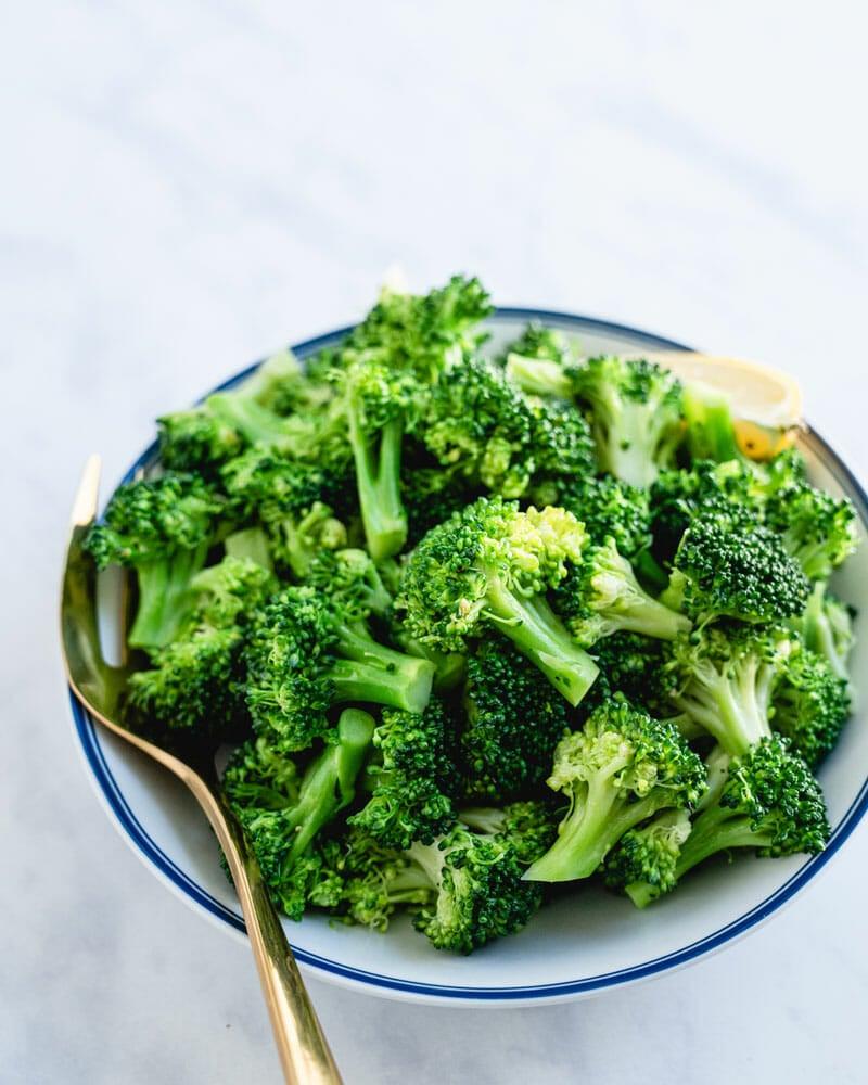 Boiled broccoli