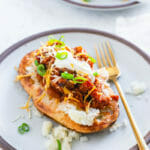 Chili baked potato