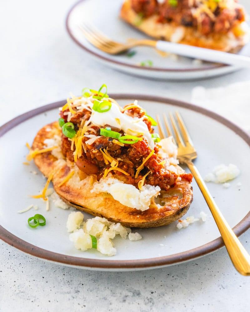 Chili baked potato