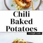 Chili Baked Potatoes