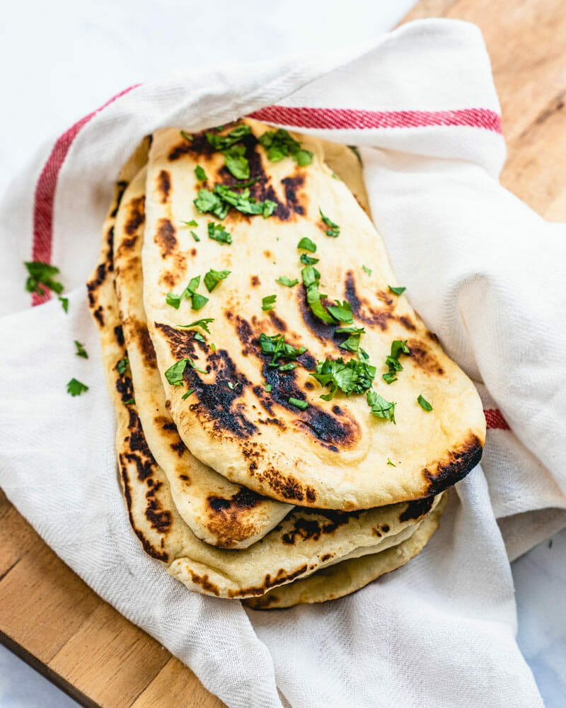 Garlic Naan Bread Fast Easy A Couple Cooks