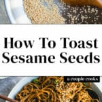 How to Toast Sesame Seeds