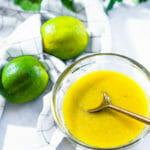 Lime vinaigrette