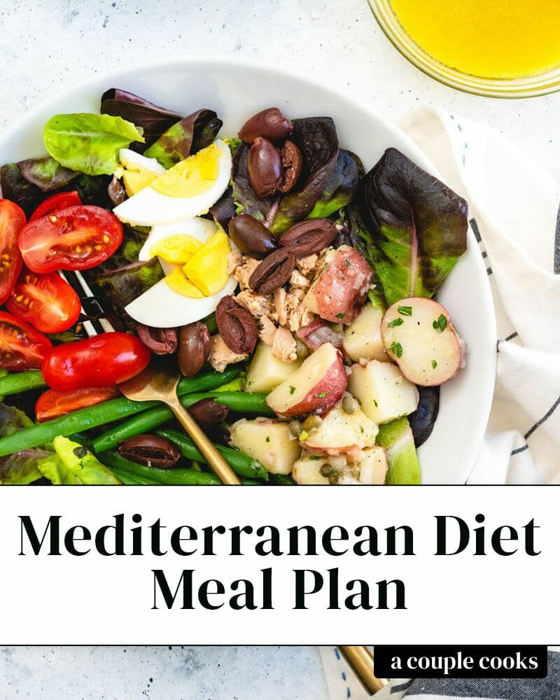 28 Day Mediterranean Diet Meal Plan