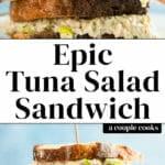 Tuna Salad Sandwich Epic