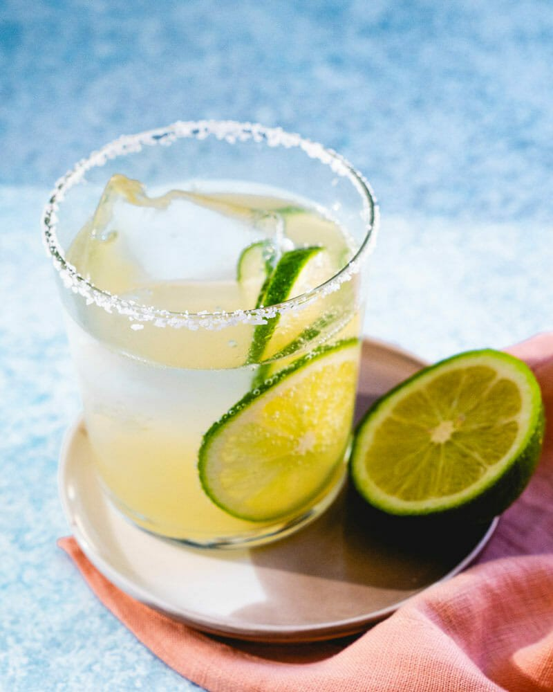 Margarita with sour mix