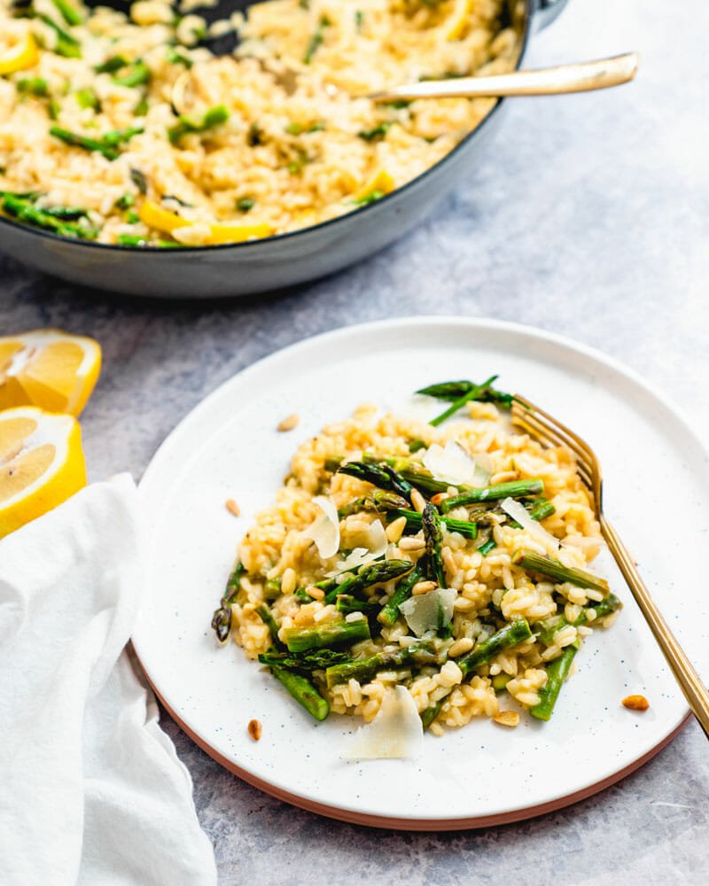 Best Asparagus risotto