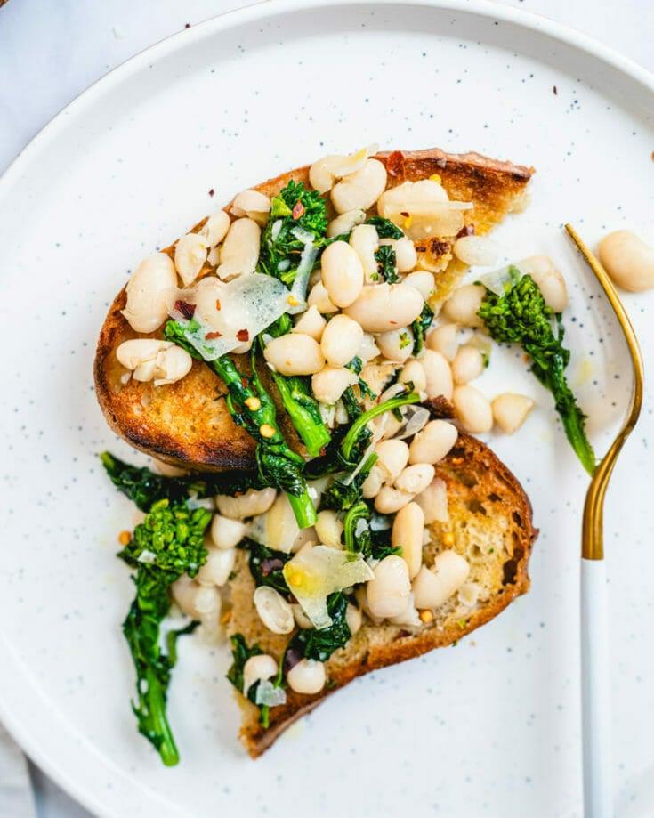 White Beans on Toast