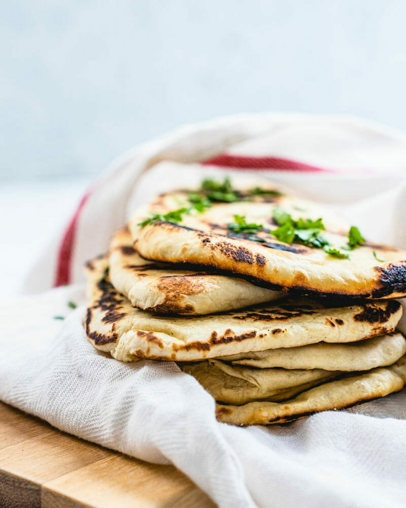 Vegan naan recipe