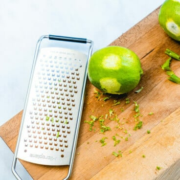 How to zest a lime