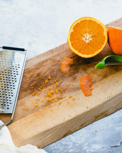 How to zest an orange
