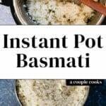 Instant Pot Basmati