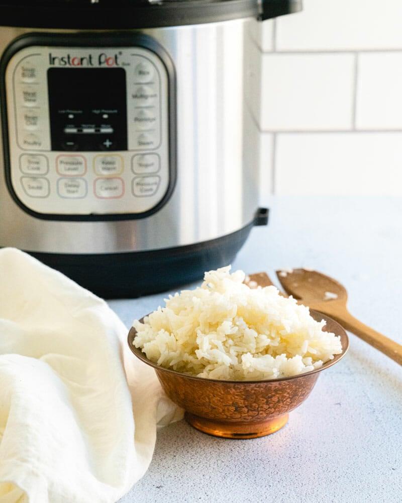 Pressure cooker jasmine rice