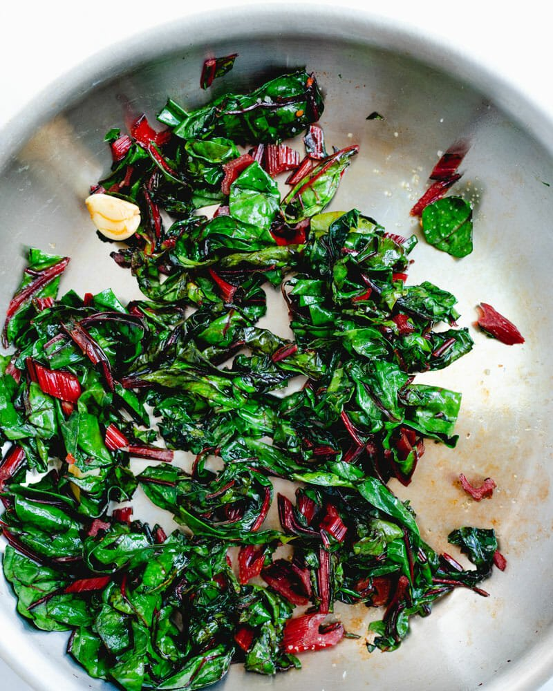 Sauteed Rainbow Chard A Couple Cooks