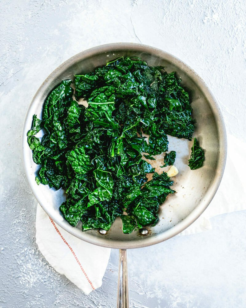 Best Ever Sauteed Kale Big Flavor A Couple Cooks