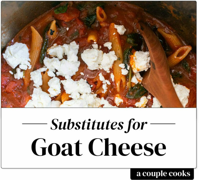 Substitute for Goat Cheese