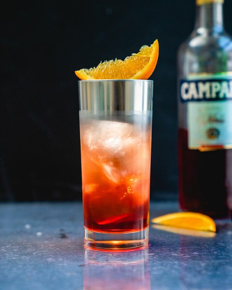Americano with campari
