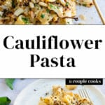 Cauliflower Pasta