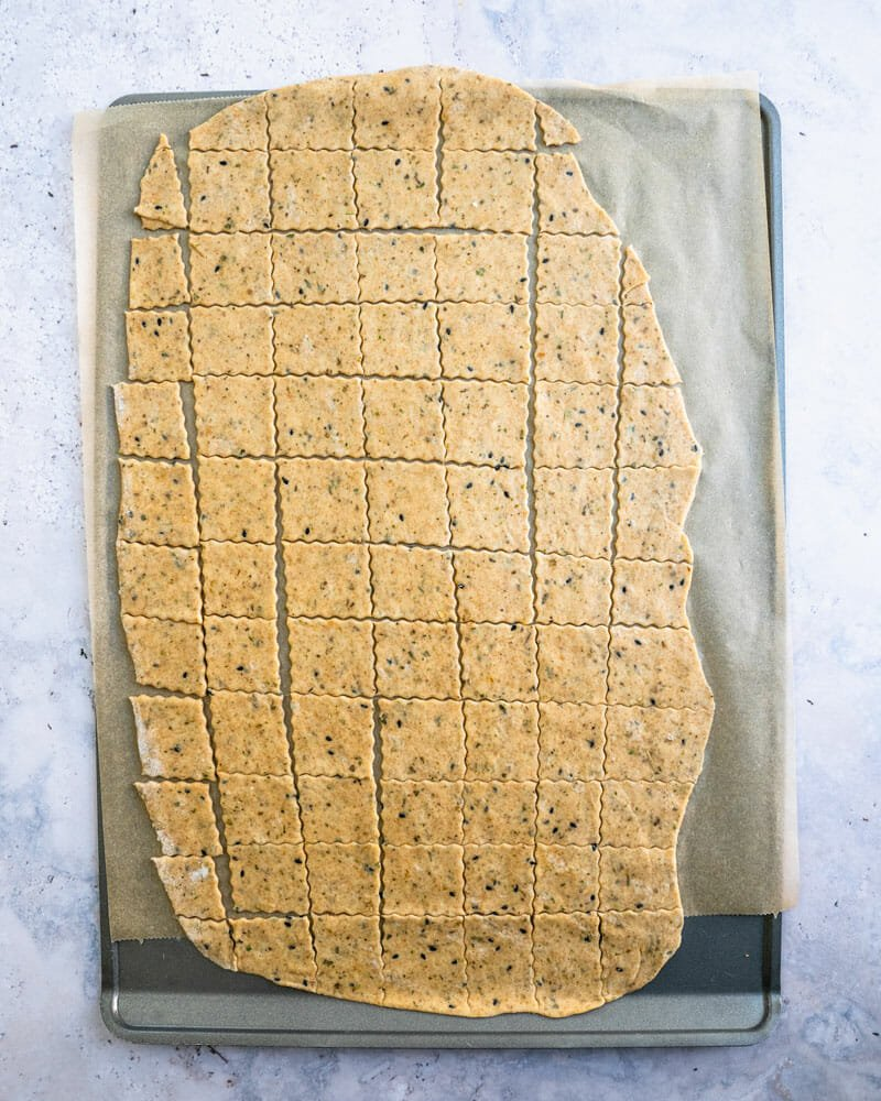 How to make homemade crackers
