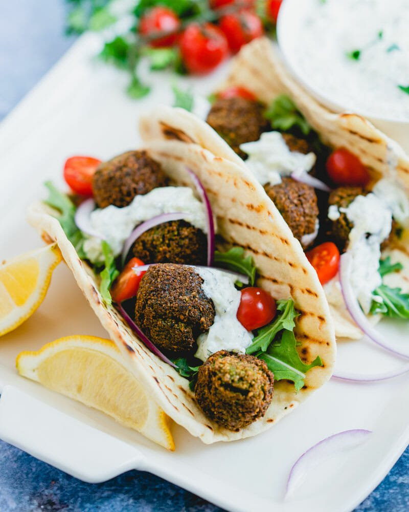 Ultimate Falafel Sandwich A Couple Cooks