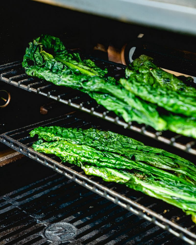 How to grill kale