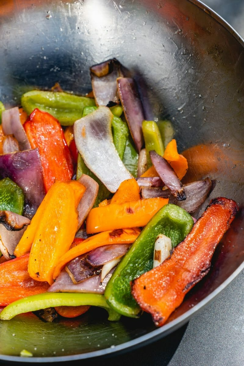 How to make grilled peppers