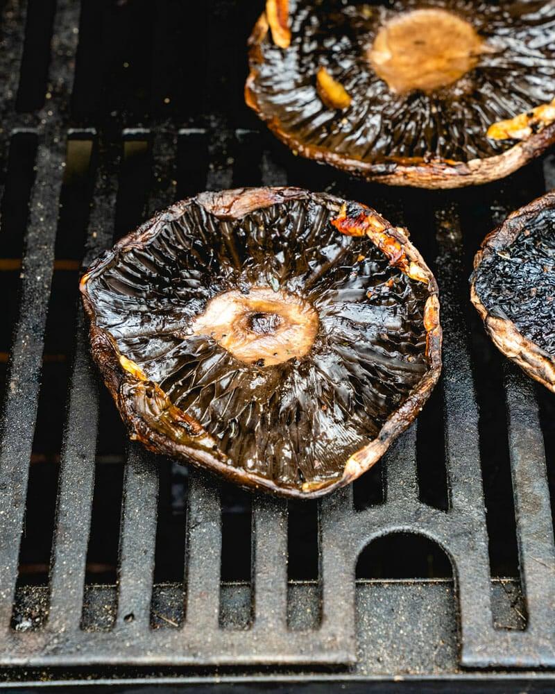 Grilled portobello mushroom