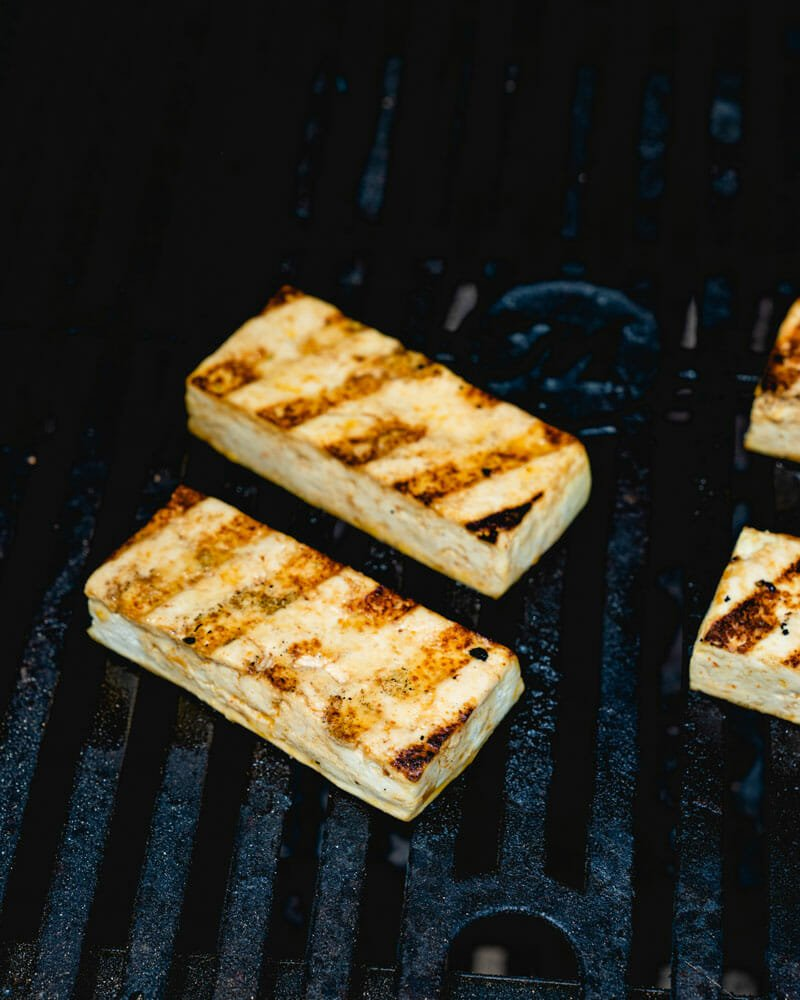 How to grill tofu
