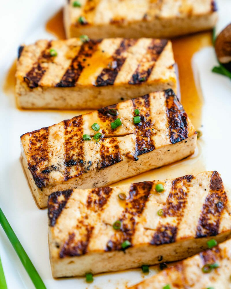 Easy Grilled Tofu A Couple Cooks
