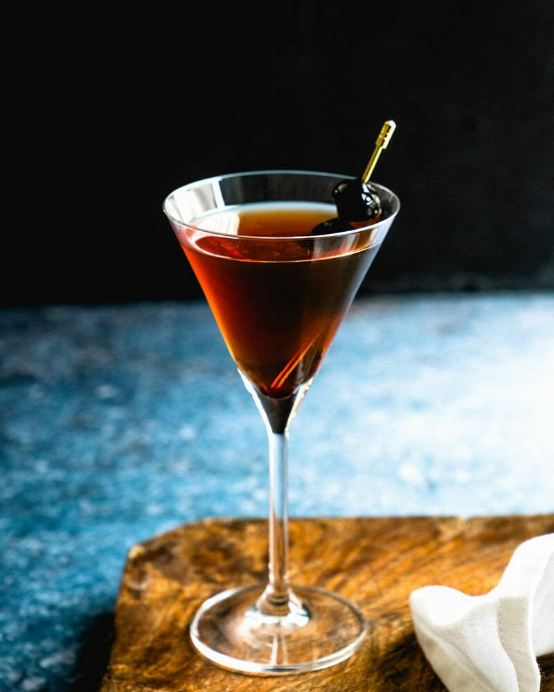 Classic Manhattan Cocktail 3 Ingredients A Couple Cooks