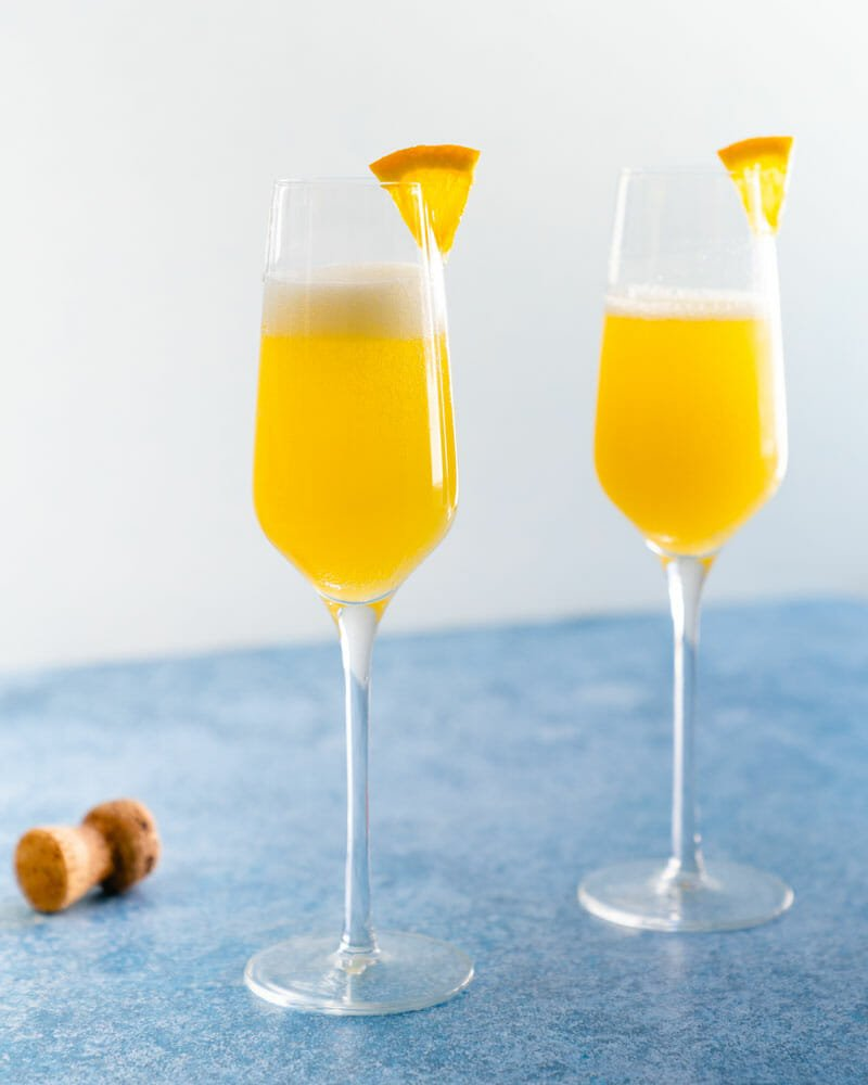 Mimosa with prosecco