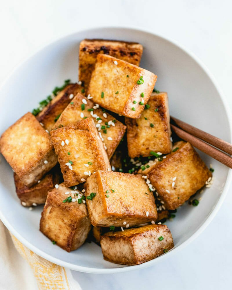 Perfect Pan Fried Tofu A Couple Cooks
