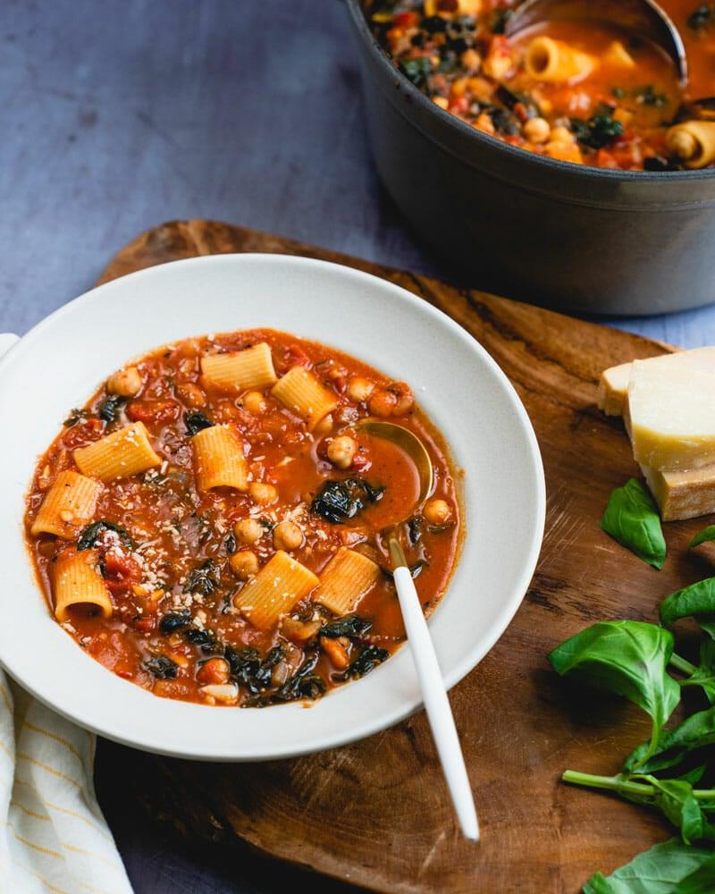 Italian chickpea soup