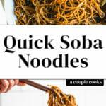 Quick Soba Noodles