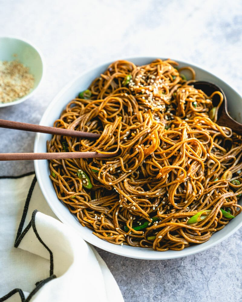 Soba noodles recipe