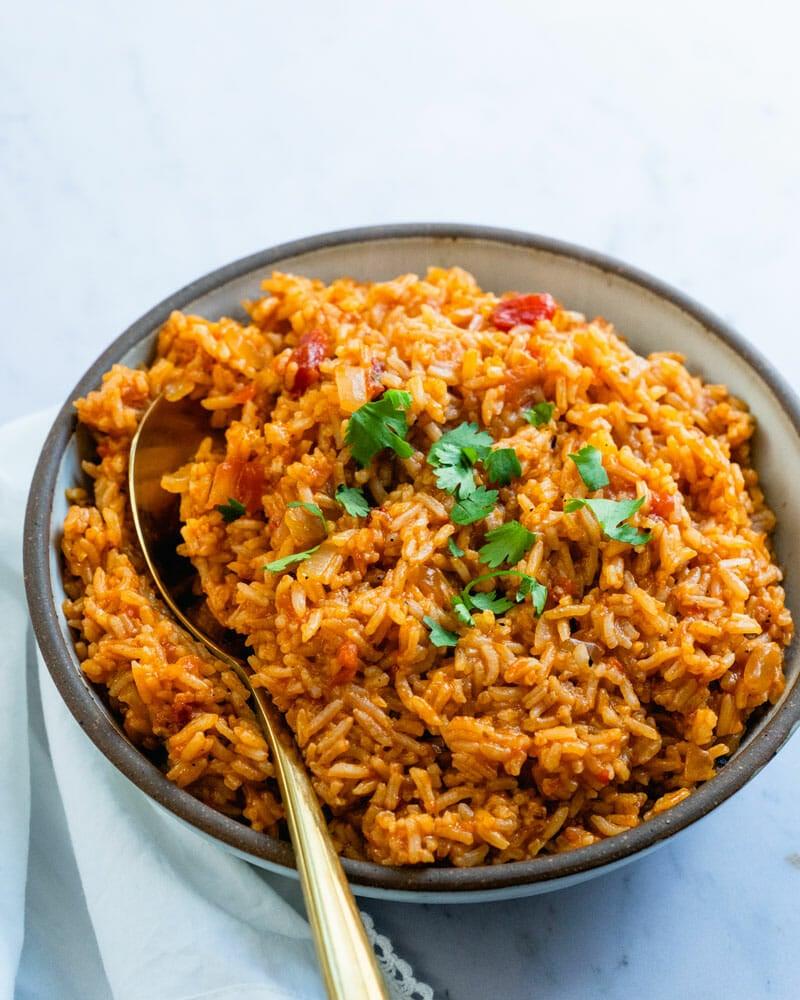 Spanish rice aka Mexican rice